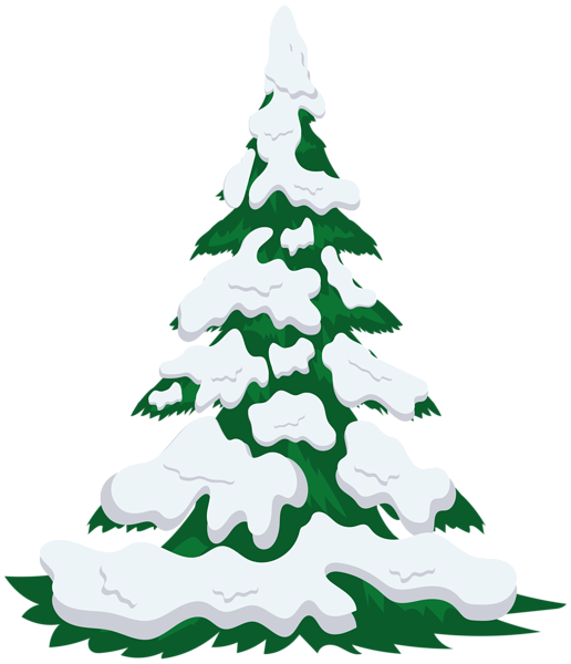 Snowy tree clipart graphic library stock Snowy Tree Transparent PNG Image | Gallery Yopriceville - High ... graphic library stock