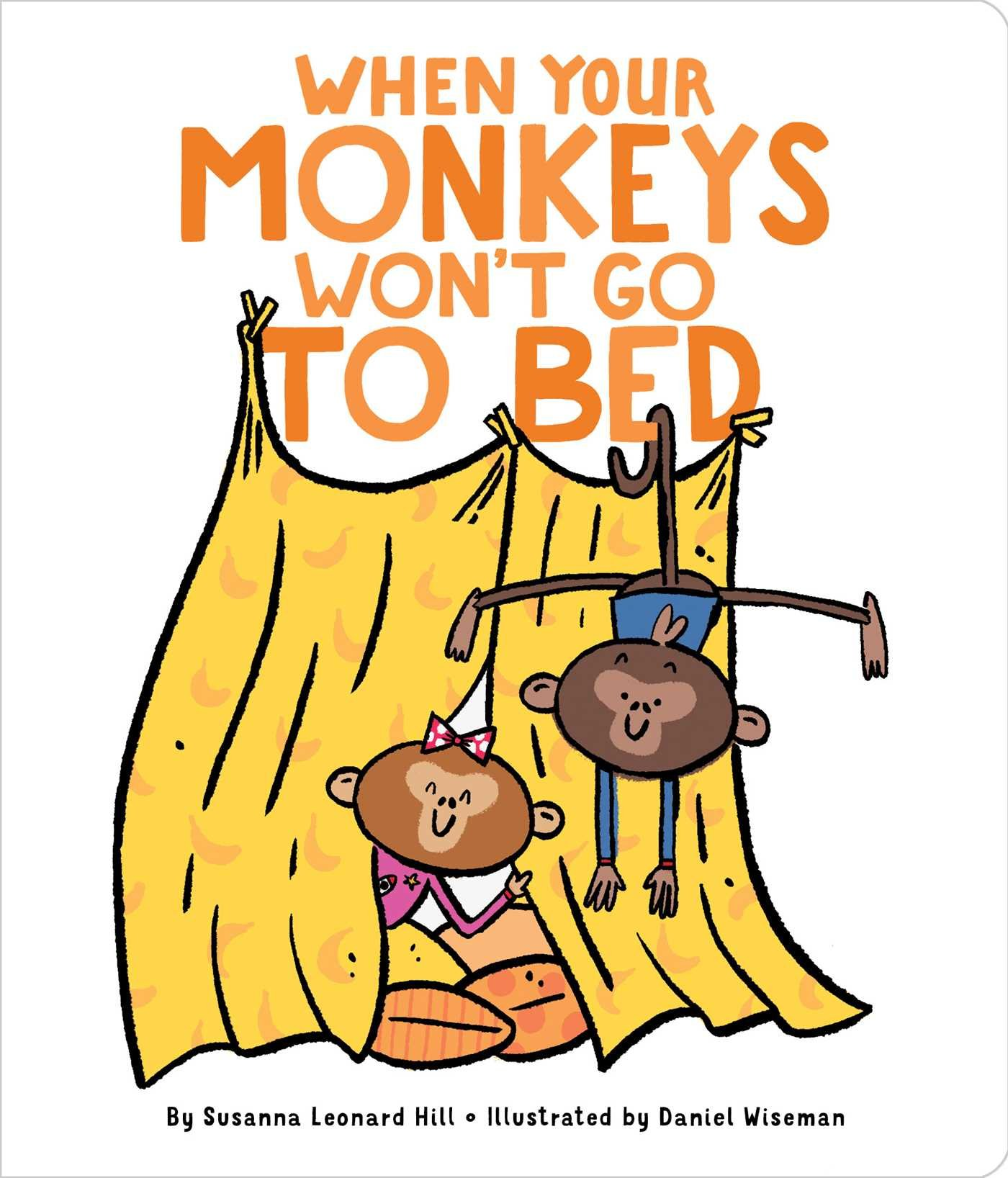 Snuggle up to a good book clipart svg free library When Your Monkeys Won\'t Go to Bed: Susanna Leonard Hill ... svg free library