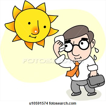 Warm and sunny clipart image freeuse stock Hot clipart 7 » Clipart Station image freeuse stock