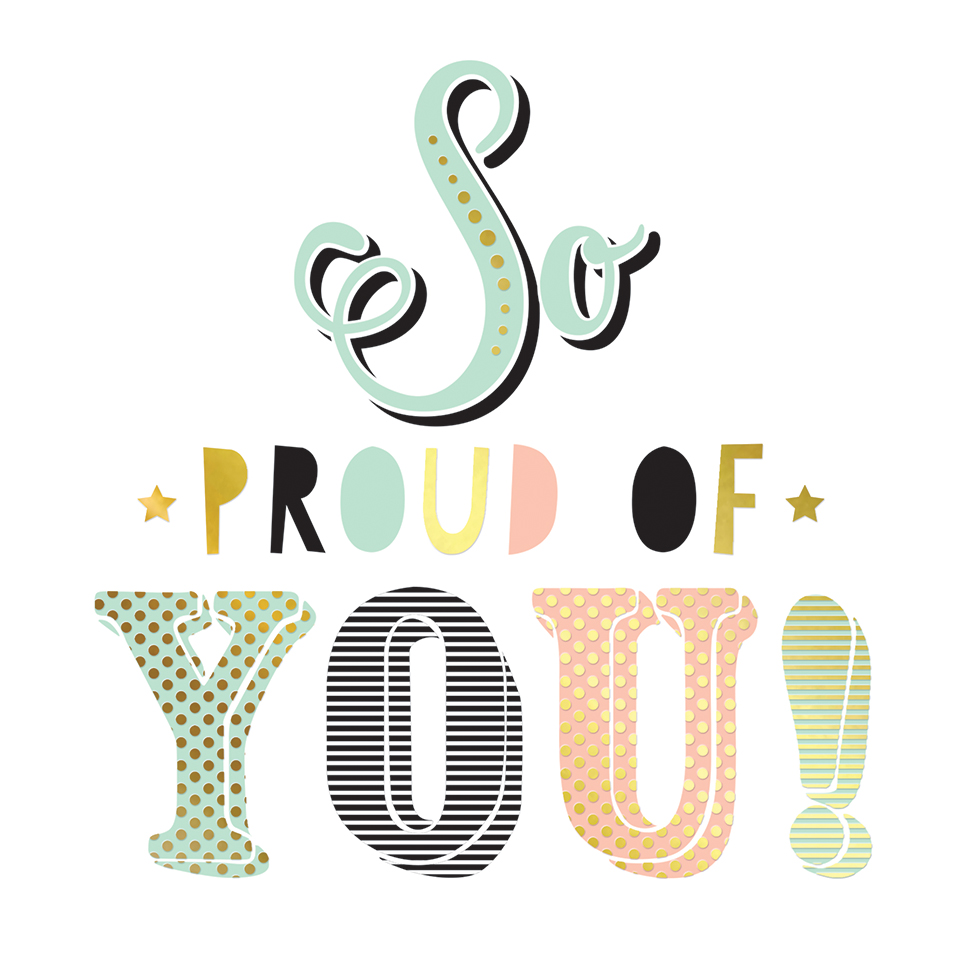 So proud of you clipart banner download So Proud of You, Greeting Card - paperme.se banner download