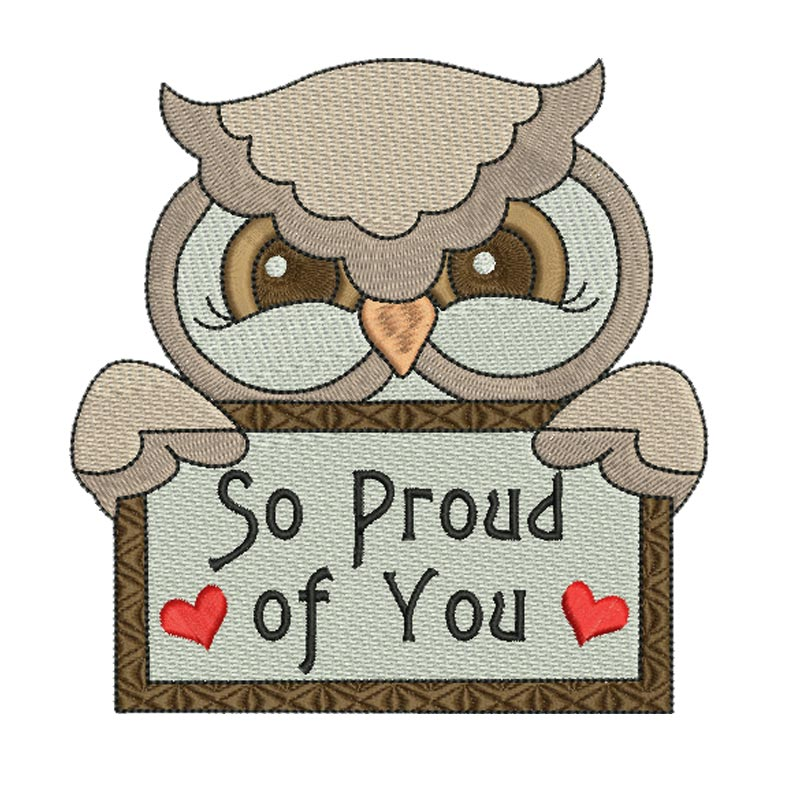 So proud of you clipart picture black and white download So Proud of You 5X7 - BabyNucci Embroidery Designs picture black and white download