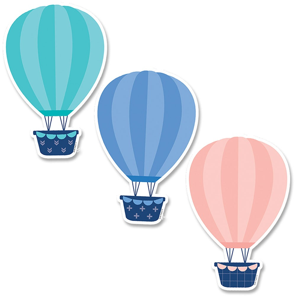Soar to serve hot air balloon clipart picture 6In Designer Cut-Outs Hot Air Balloons Calm & Cool picture