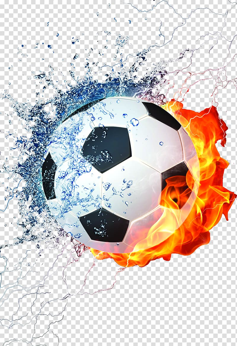 Soccer ball breaking glass clipart transparent background clip black and white stock Football Mobile phone Fire , Rainbow night football World ... clip black and white stock