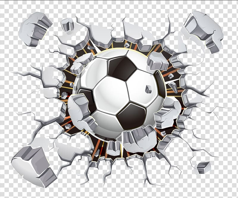 Soccer ball breaking glass clipart transparent background clipart free library Wall decal Sticker Vinyl group Football, football, soccer ... clipart free library