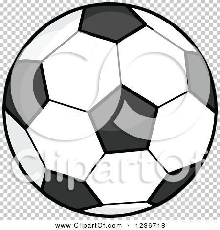 Soccer ball cartoon clipart banner freeuse stock Clipart of a Cartoon Soccer Ball - Royalty Free Vector ... banner freeuse stock