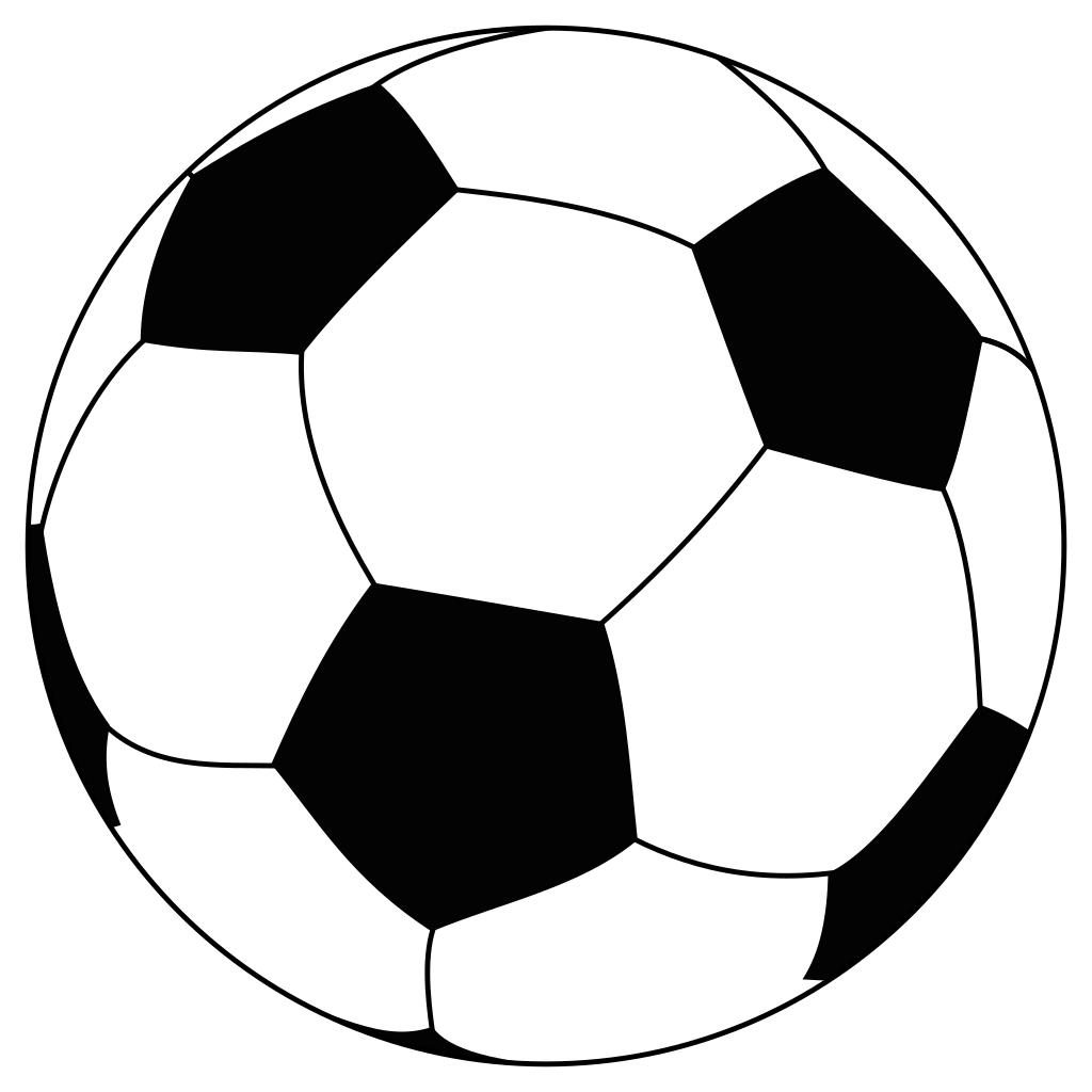 English football clipart picture transparent File:Soccerball.svg - Wikipedia picture transparent