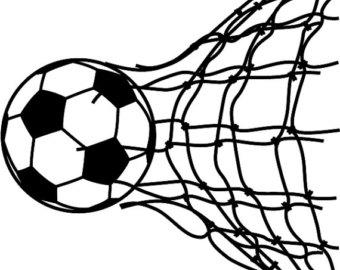 Soccer ball clip art vector free library Soccer ball clipart – Etsy vector free library