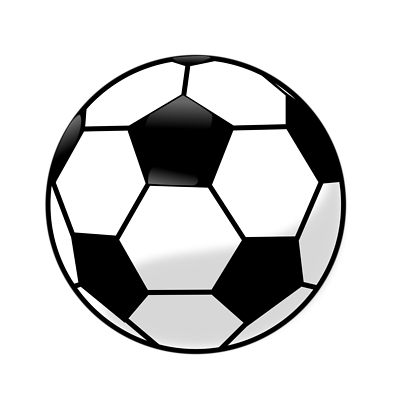 Soccer ball clipart background png black and white library Soccer Ball Clip Art Black And White | Clipart Panda - Free ... png black and white library