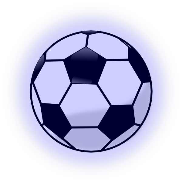 Soccer ball clipart background clip stock Soccer Ball - Blue Background Clip Art at Clker.com - vector clip ... clip stock