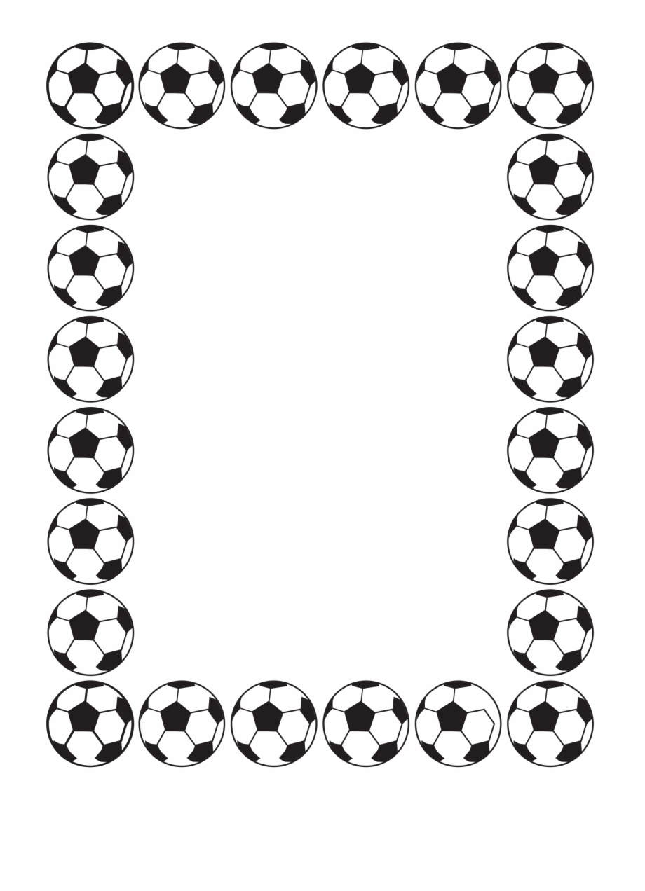 Soccer ball clipart border picture download Smallfootball - Soccer Ball Borders Png Free PNG Images ... picture download