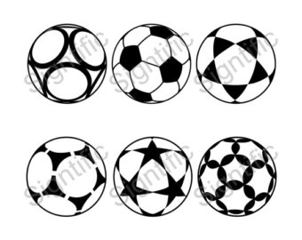 Soccer ball clipart eps vector transparent download Soccer ball clipart – Etsy vector transparent download