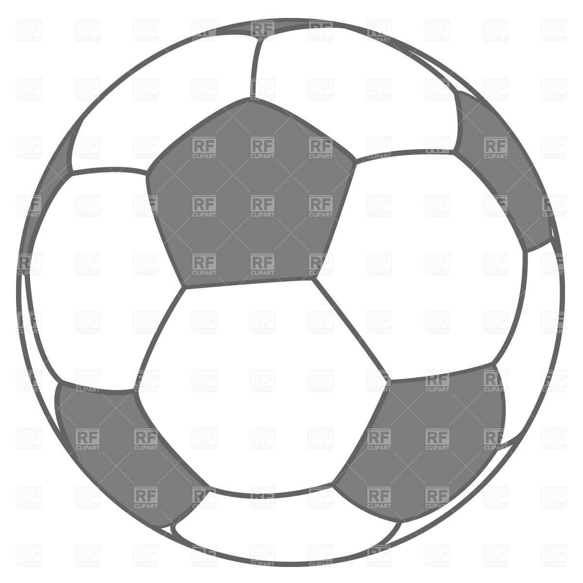 Soccer ball clipart eps jpg library download Soccer ball Vector Image #752 – RFclipart jpg library download