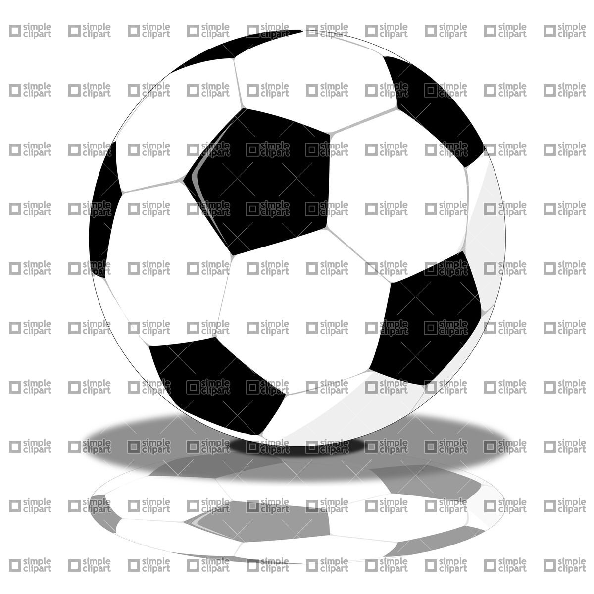 Soccer ball clipart eps picture stock Football (Soccer) ball Vector Image #21210 – SimpleClipart picture stock
