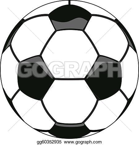 Soccer ball clipart eps banner transparent download Vector Illustration - Vector soccer ball clipart. EPS Clipart ... banner transparent download