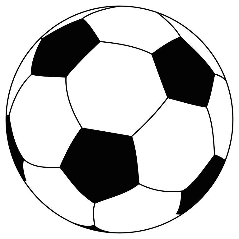 Football clipart white picture library Soccer Ball Line Drawing at GetDrawings.com | Free for personal use ... picture library
