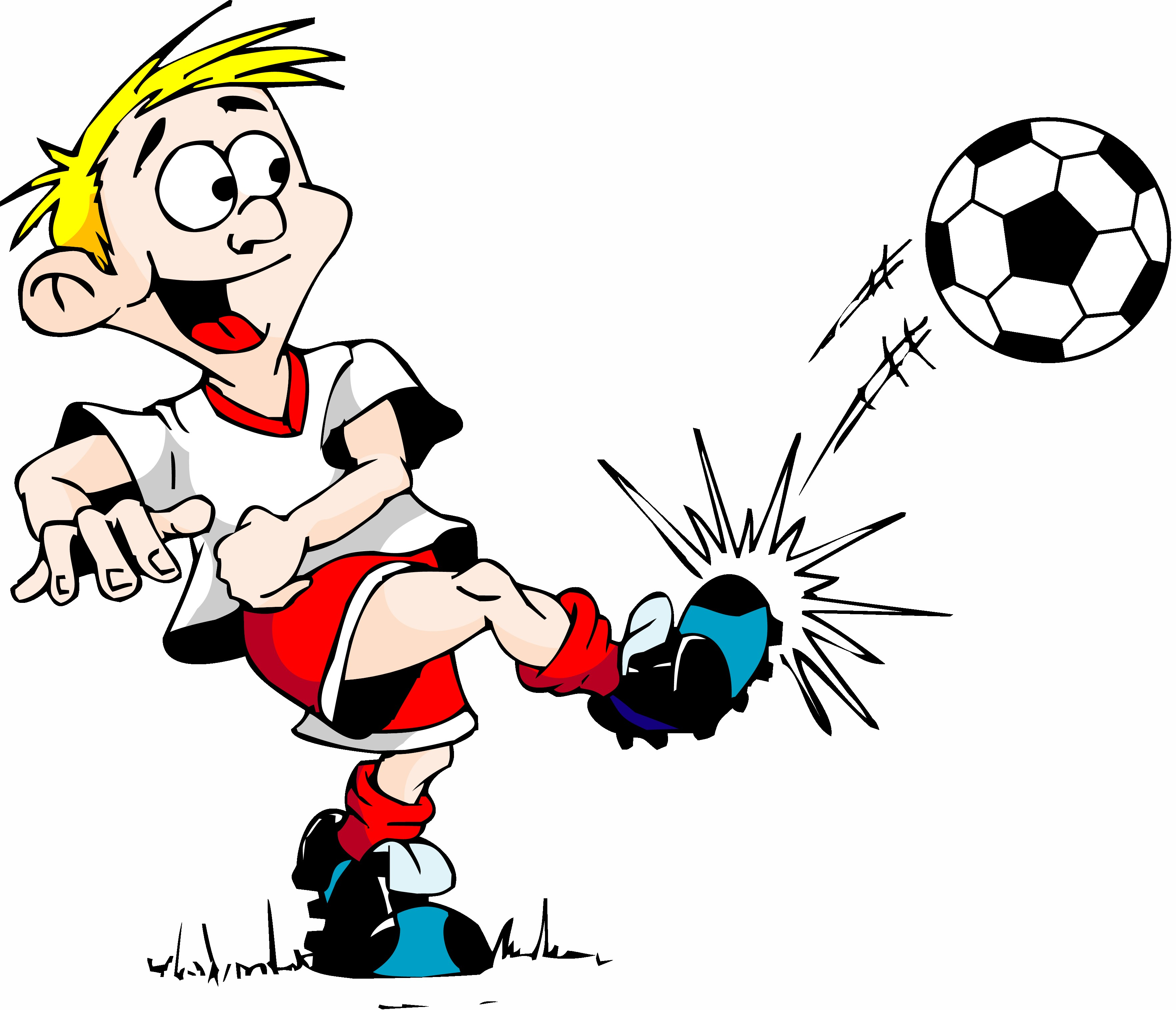 Soccer ball clipart goal jpg black and white download Soccer Ball Being Kicked Goal Cartoon | Free Download Clip Art ... jpg black and white download