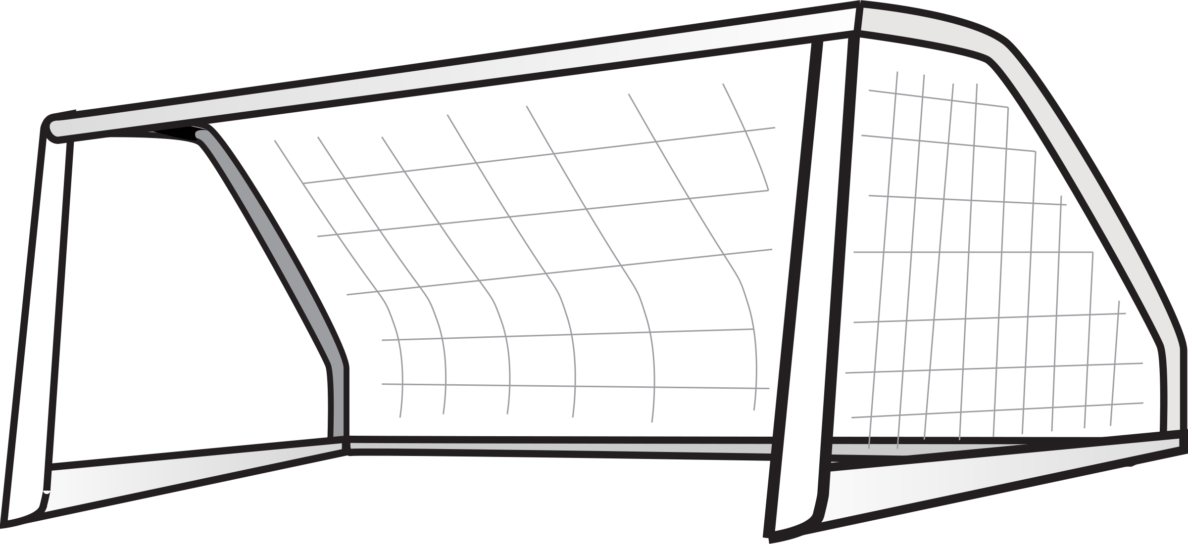 Clipart football goal post image library library Soccer Goal Clipart & Soccer Goal Clip Art Images - ClipartALL.com image library library