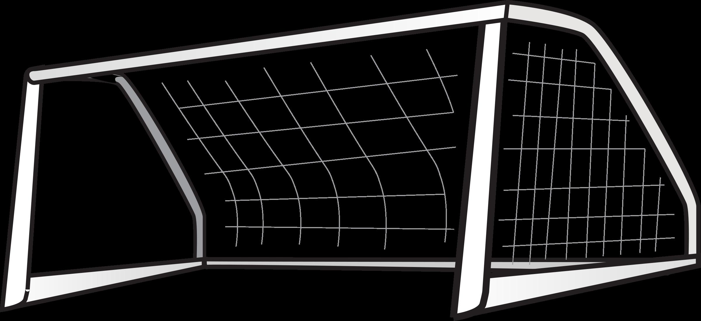 Goal post football clipart image transparent stock Soccer Goal Clipart & Soccer Goal Clip Art Images - ClipartALL.com image transparent stock