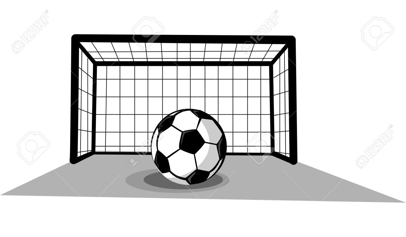 Soccer ball clipart goal picture library library Soccer Goal Clip Art & Soccer Goal Clip Art Clip Art Images ... picture library library