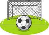 Soccer ball clipart goal picture free download Soccer Goal Clip Art & Soccer Goal Clip Art Clip Art Images ... picture free download