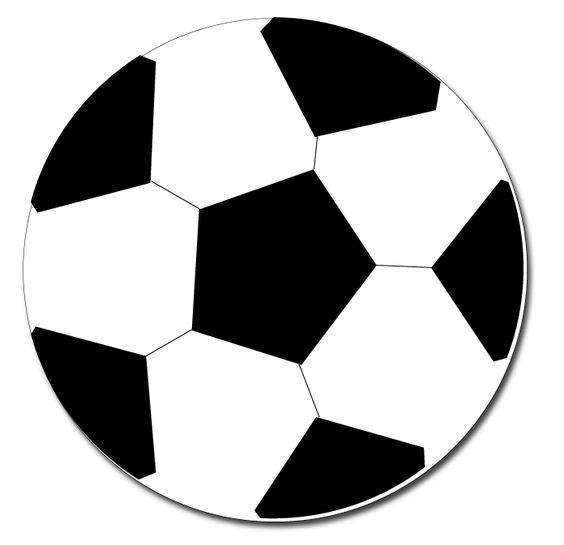 Soccer ball clipart goal image black and white library soccer ball clip art - pin the ball in the goal | Soccer Camp ... image black and white library