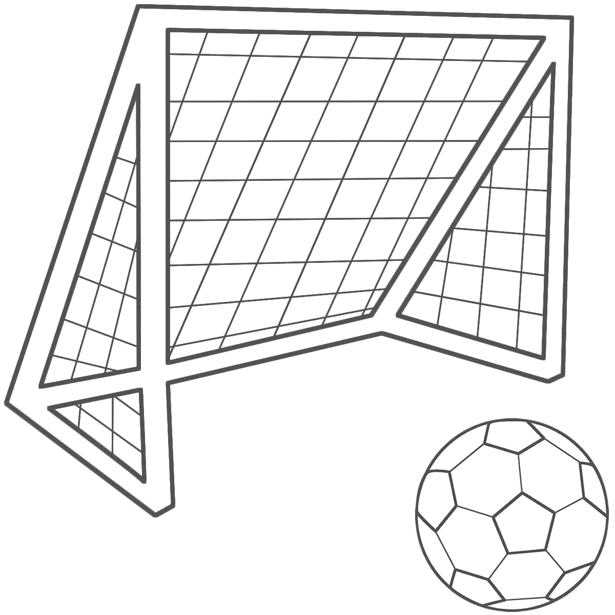 Soccer ball clipart goal svg transparent Soccer Goal Clip Art & Soccer Goal Clip Art Clip Art Images ... svg transparent