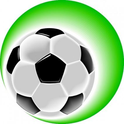 Soccer ball clipart green clip transparent Free Soccer Ball Clipart Pictures - Clipartix clip transparent