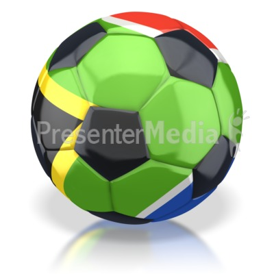 Soccer ball clipart green picture freeuse South Africa Soccer Ball - Sports and Recreation - Great Clipart ... picture freeuse