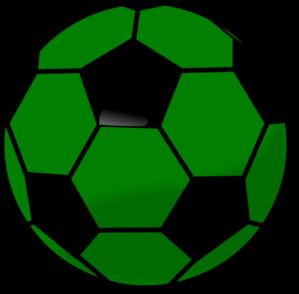 Soccer ball clipart green jpg library stock Soccer ball clipart green - ClipartFest jpg library stock