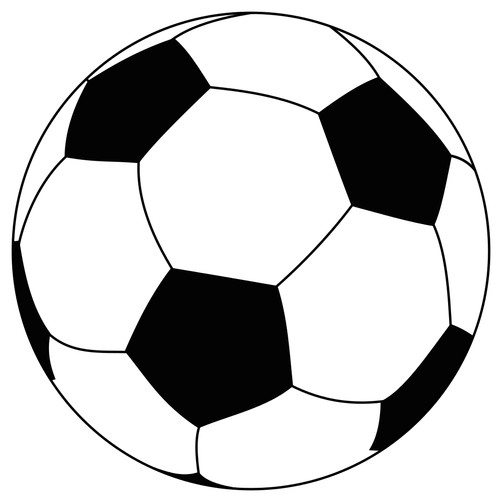 Football outline clipart black and white image royalty free Soccer Ball Png - Free Icons and PNG Backgrounds image royalty free