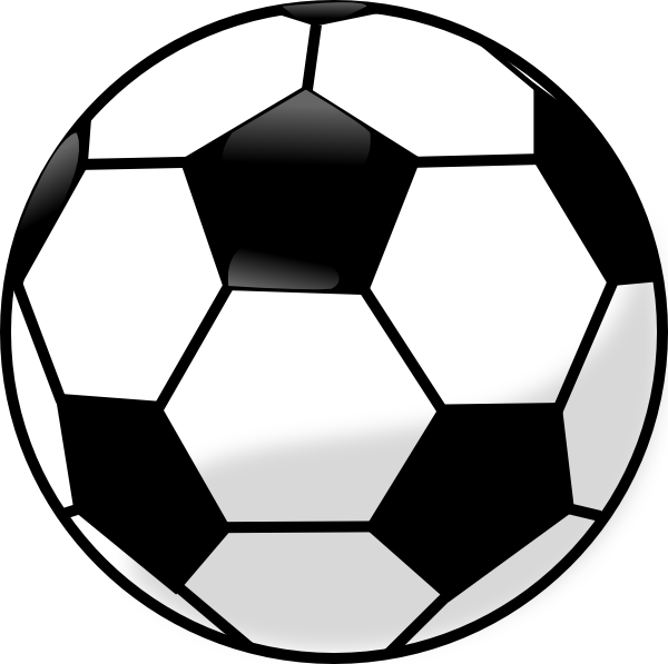 Soccer ball clipart background picture black and white library Soccer ball clipart transparent - ClipartFest picture black and white library