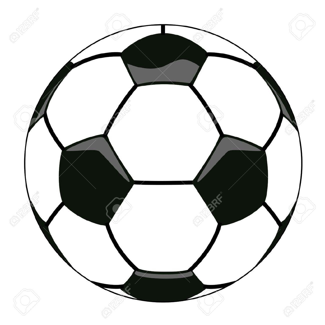 Soccer ball clipart vector clip art Vector Illustration Of Soccer Ball Clipart Royalty Free Cliparts ... clip art
