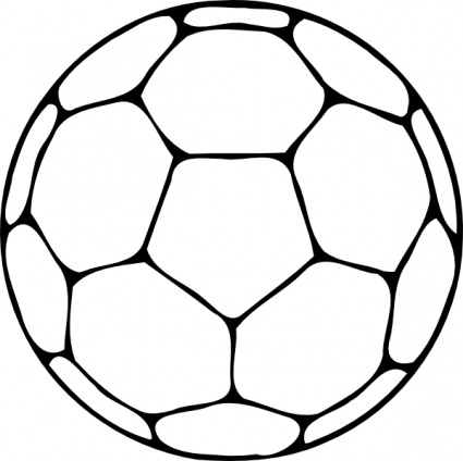 Soccer ball clipart vector image black and white stock Soccer Balls Clipart | Free Download Clip Art | Free Clip Art | on ... image black and white stock