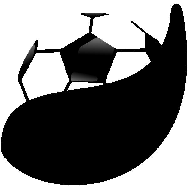 Soccer ball clipart vector jpg black and white Soccer Ball 414 Clip Art at Clker.com - vector clip art online ... jpg black and white