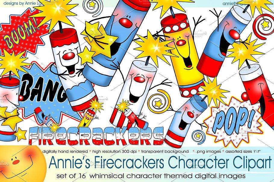 Soccer ball firecracker clipart image free library Firecracker Character Clipart image free library