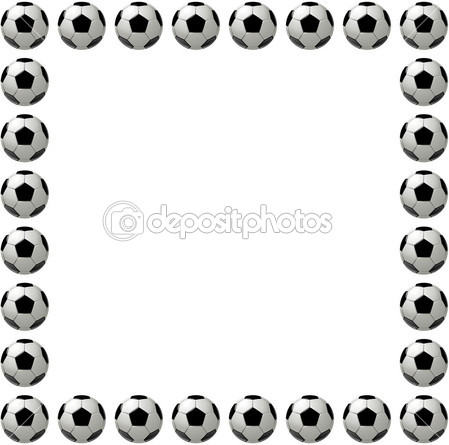 Soccer ball frame clipart svg free library Football Borders And Frames | Clipart Panda - Free Clipart Images svg free library