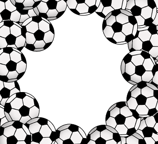 Soccer ball frame clipart png free library The 3am Teacher: Linky Leap Year TPT SALE!!!! New Clip Art ... png free library