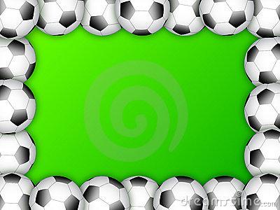 Soccer ball frame clipart image free library Soccer Ball Border Stock Illustrations – 525 Soccer Ball Border ... image free library