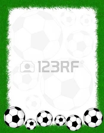 Soccer ball frame clipart vector transparent stock 4,411 Soccer Frame Stock Vector Illustration And Royalty Free ... vector transparent stock