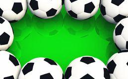 Soccer ball frame clipart picture library download Sport Balls Border Frame Stock Illustrations – 46 Sport Balls ... picture library download