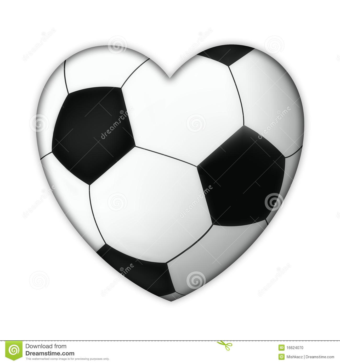 Soccer ball heart clipart svg freeuse Soccer heart clipart - ClipartFest svg freeuse