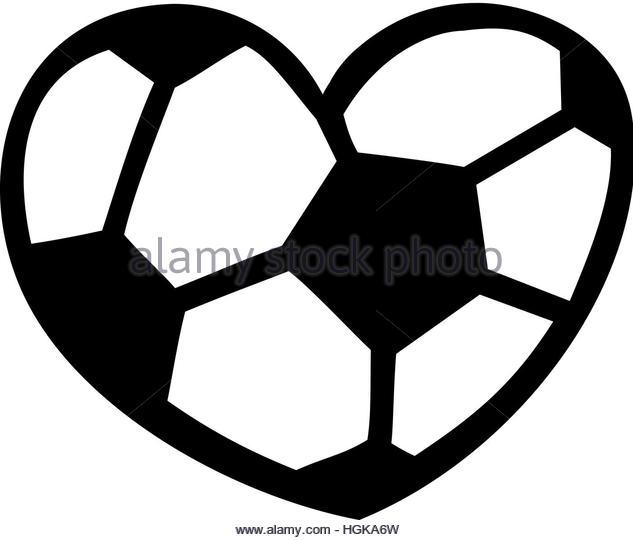 Soccer ball heart clipart png transparent Soccer Heart Clip Art – Clipart Free Download png transparent