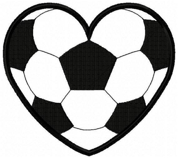 Soccer ball heart clipart vector transparent stock Soccer ball heart clipart - ClipartFest vector transparent stock
