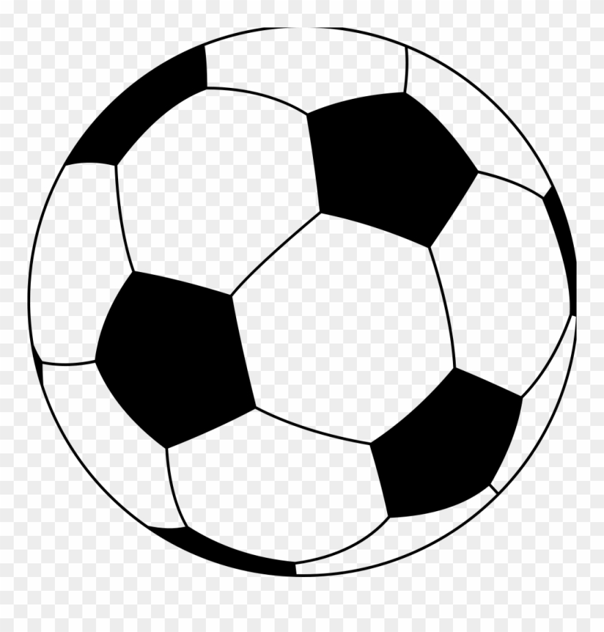 Soccer ball pictures clipart graphic royalty free download Simple Soccer Ball - Transparent Cartoon Soccer Ball Clipart ... graphic royalty free download