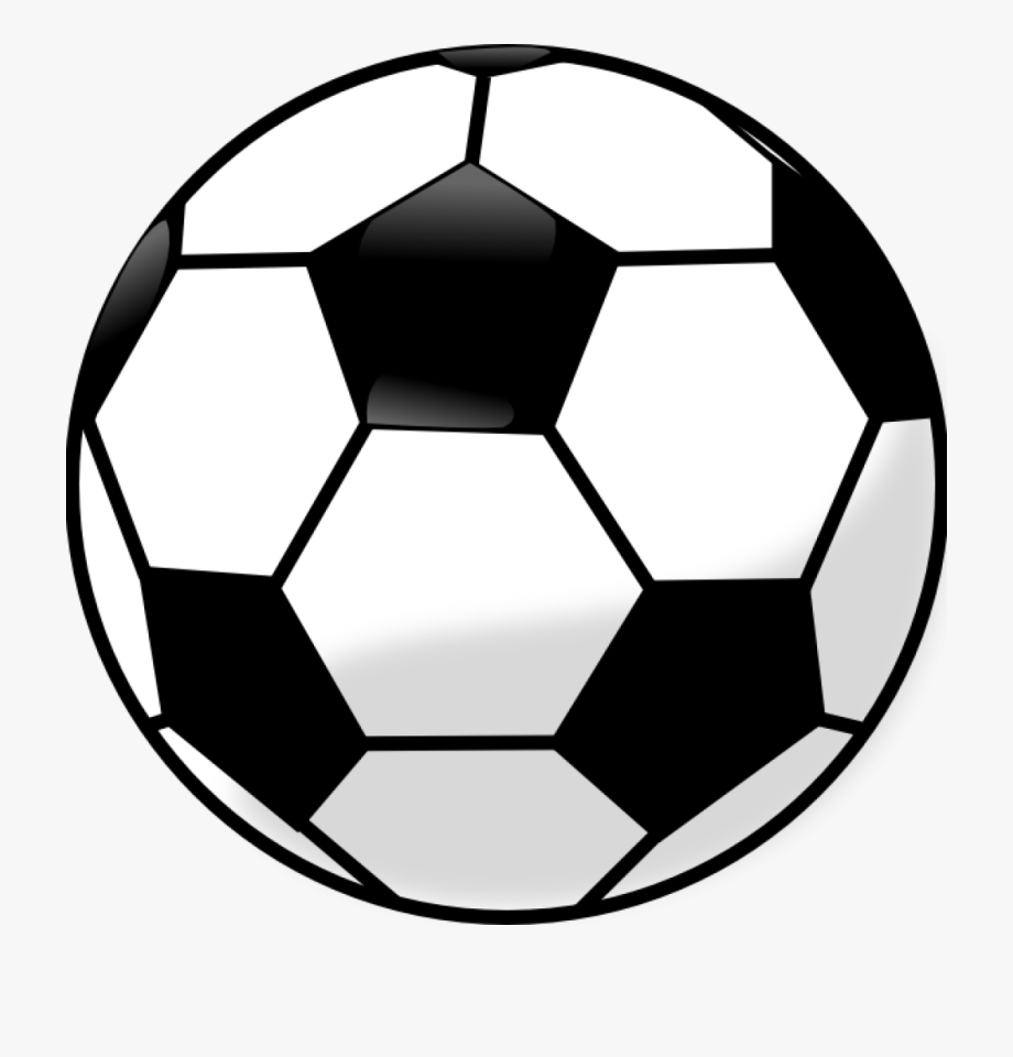 Soccerball clipart vector black and white stock Soccer Ball Clip Art Free Soccer Ball Clip Art Free - Soccer ... vector black and white stock