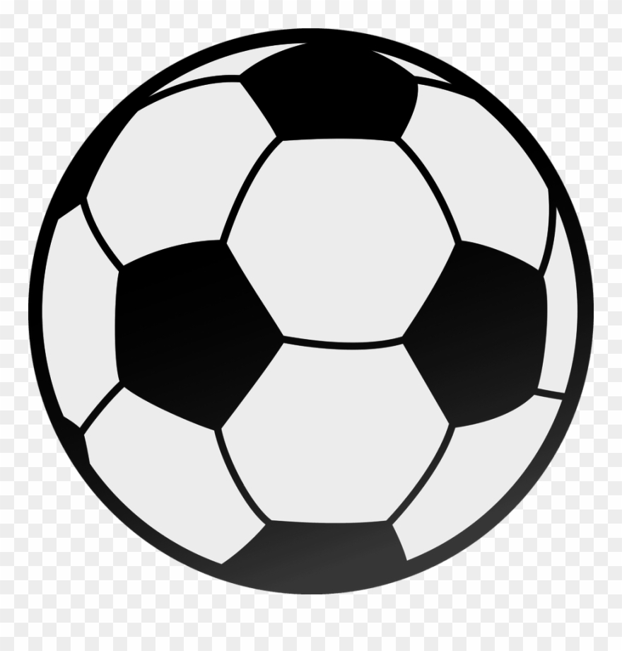 Printable Picture Of A Soccer Ball Clipart - Soccer Ball ... image black and white stock