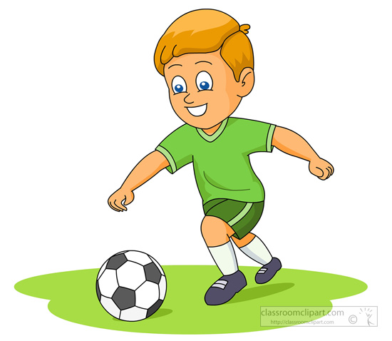 Soccer ball player clipart clip art black and white download Soccer Clipart : Soccer Player Running To Kick Ball_04 ... clip art black and white download