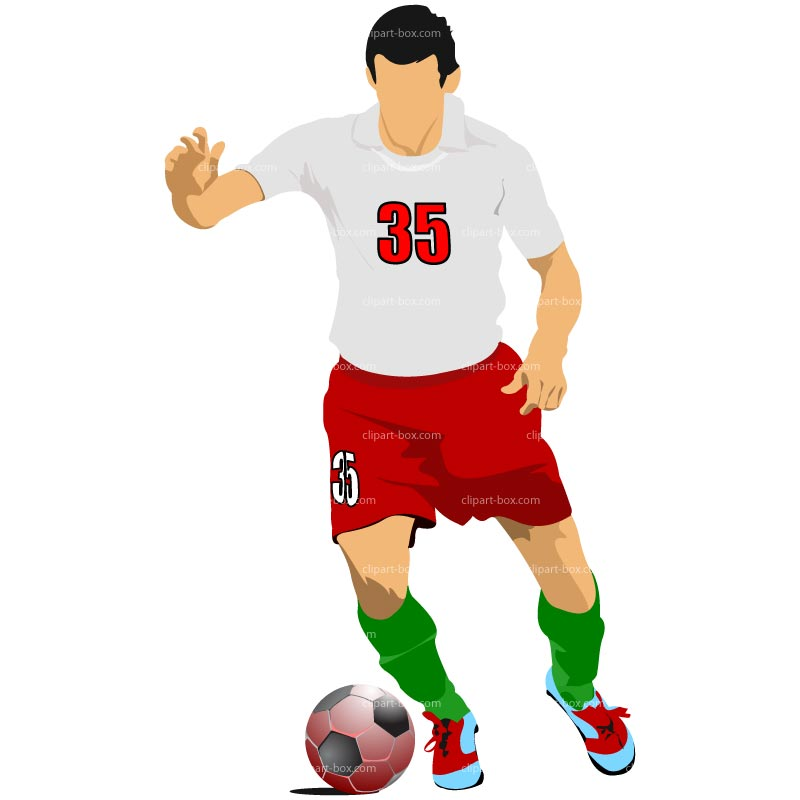 Soccer ball player clipart vector free stock Free Soccer Player Cliparts, Download Free Clip Art, Free ... vector free stock