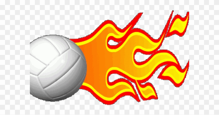 Soccer ball with flames clipart jpg black and white stock Animation Clipart Volleyball - Gif Flaming Soccer Ball - Png ... jpg black and white stock