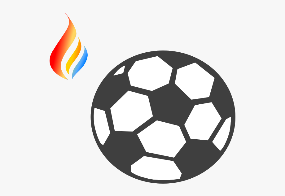Soccer ball with flames clipart transparent download Flame Logo 8 - Blue Soccer Ball Clipart #1931339 - Free ... transparent download